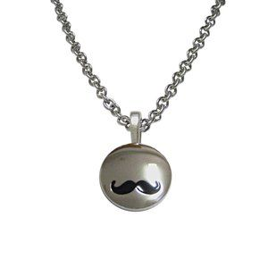 Shooter Gamekeeper Large Oval Pendant Necklace